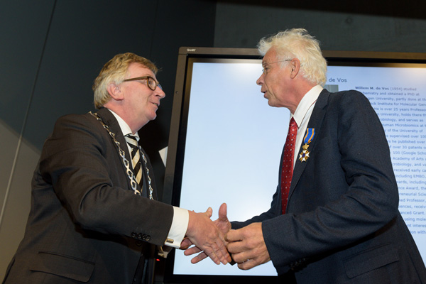 Former TiFN programme director Willem de Vos receives royal recognition