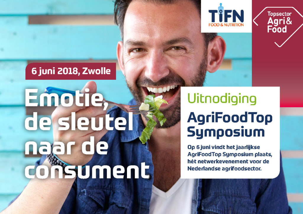 AgriFoodTop Symposium 2018:  'Emotion, key to the consumer'
